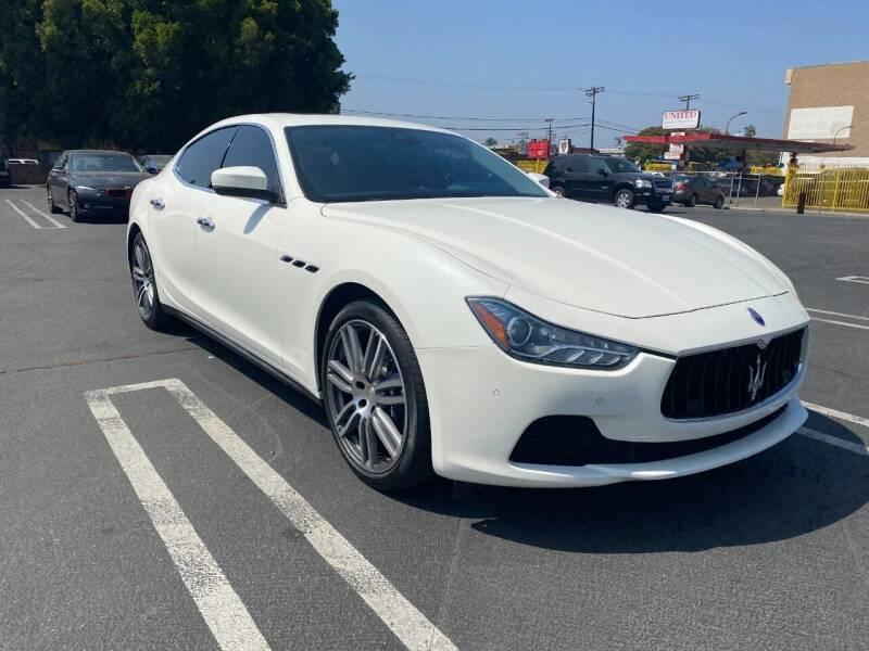 2017 Maserati Ghibli for sale at UNITED AUTO MART CA in Arleta CA