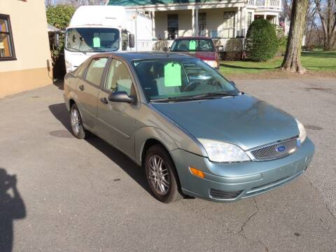 2005 Ford Focus for sale at FENTON AUTO SALES in Westfield MA