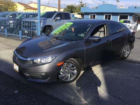 2017 Honda Civic for sale at LA PLAYITA AUTO SALES INC in South Gate CA