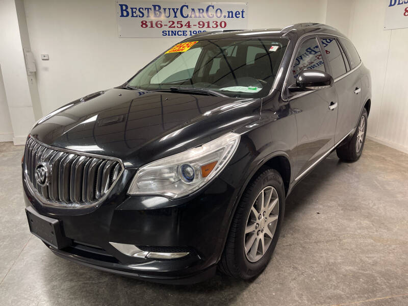 2013 Buick Enclave for sale at Best Buy Car Co in Independence MO