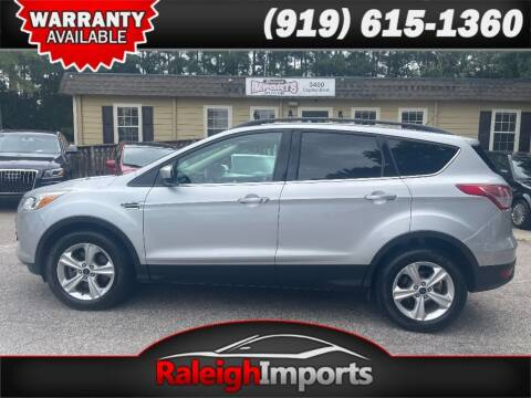 2015 Ford Escape for sale at Raleigh Imports in Raleigh NC