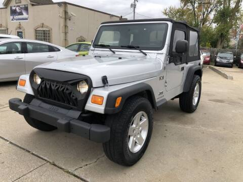 2004 Jeep Wrangler for sale at AAA Auto Wholesale in Parma OH