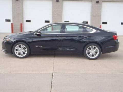 2015 Chevrolet Impala for sale at Thurk Bros Auto in St Bonifacius MN