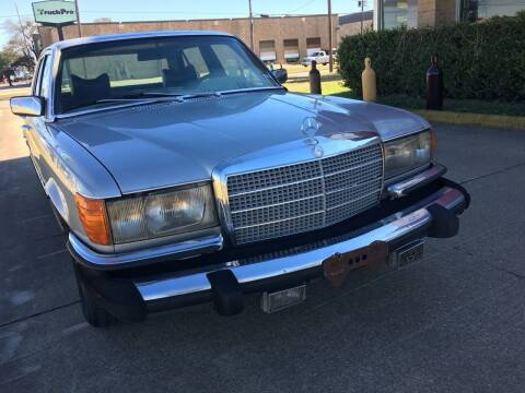 1980 Mercedes - Benz 450SEL for sale at TETCO AUTO SALES  / TETCO FUNDING in Dallas TX