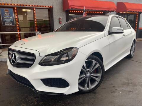 2015 Mercedes-Benz E-Class for sale at MATRIX AUTO SALES INC in Miami FL