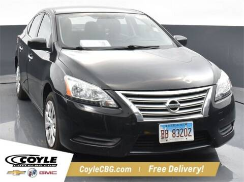2015 Nissan Sentra for sale at COYLE GM - COYLE NISSAN - New Inventory in Clarksville IN