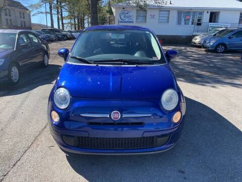 2012 FIAT 500 for sale at MEEK MOTORS in North Chesterfield VA
