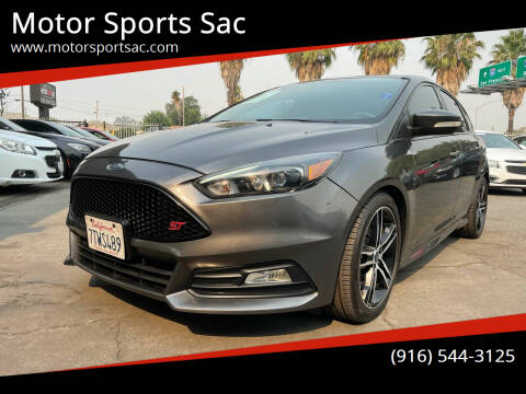 2016 Ford Focus for sale at Motor Sports Sac in Sacramento CA