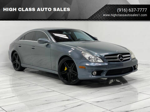 2009 Mercedes-Benz CLS for sale at HIGH CLASS AUTO SALES in Rancho Cordova CA