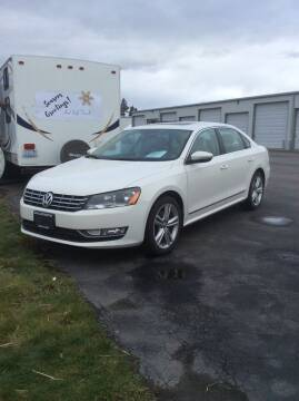 2012 Volkswagen Passat for sale at Atlas Automotive Sales in Hayden ID