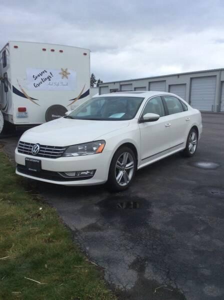 2012 Volkswagen Passat for sale at Atlas Automotive Sales in Hayden ID