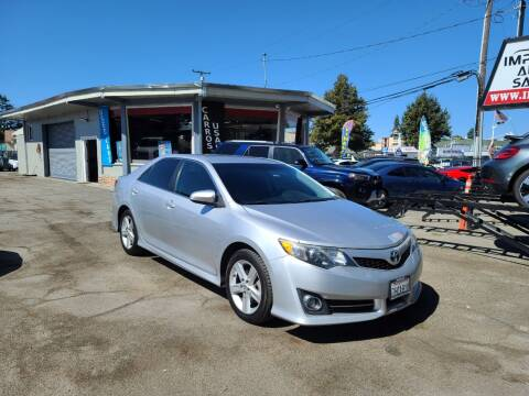 2014 Toyota Camry for sale at Imports Auto Sales & Service in San Leandro CA
