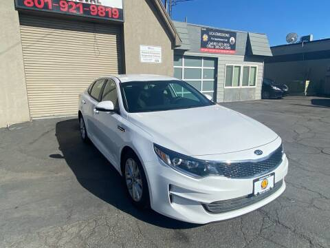 2018 Kia Optima for sale at Utah Credit Approval Auto Sales in Murray UT