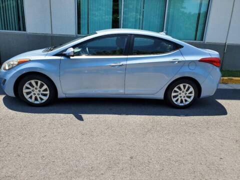 2012 Hyundai Elantra for sale at M & M Auto Brokers in Chantilly VA