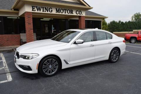 2017 BMW 5 Series for sale at Ewing Motor Company in Buford GA