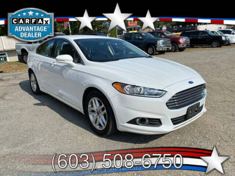 2016 Ford Fusion for sale at J & E AUTOMALL in Pelham NH