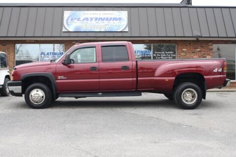 2007 Chevrolet Silverado 3500 Classic for sale at Platinum Auto World in Fredericksburg VA
