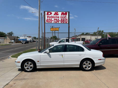 2000 Jaguar S-Type for sale at D & M Vehicle LLC in Oklahoma City OK
