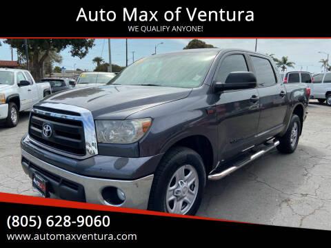 2013 Toyota Tundra for sale at Auto Max of Ventura in Ventura CA