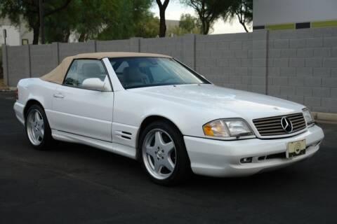 2001 Mercedes-Benz SL-Class for sale at Arizona Classic Car Sales in Phoenix AZ