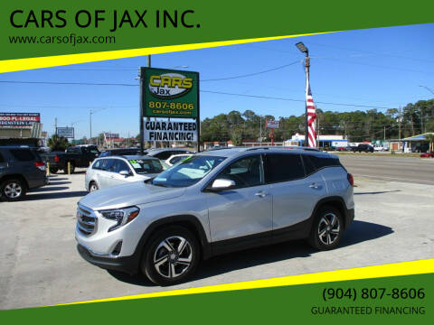 2019 GMC Terrain for sale at CARS OF JAX INC. in Jacksonville FL