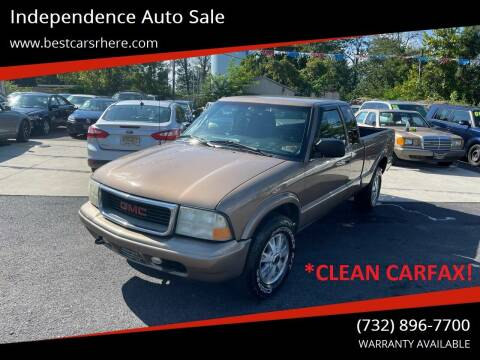 2003 GMC Sonoma for sale at Independence Auto Sale in Bordentown NJ