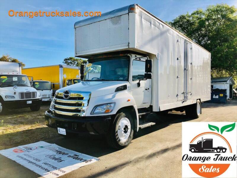 2013 Hino 268 for sale at Orange Truck Sales in Orlando FL