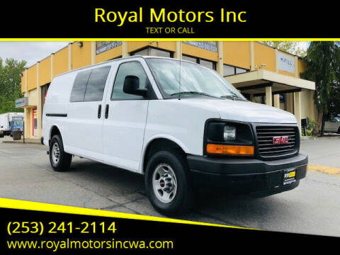 2006 GMC Savana Cargo for sale at Royal Motors Inc in Kent WA