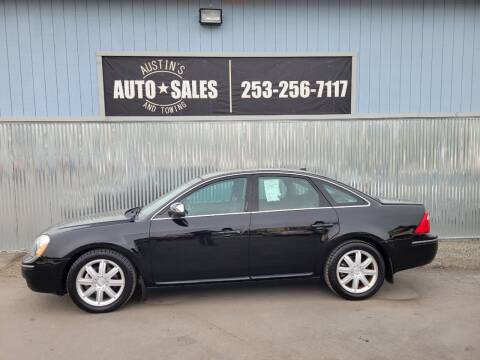 2007 Ford Five Hundred for sale at Austin's Auto Sales in Edgewood WA