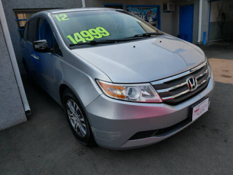 2012 Honda Odyssey for sale at M & R Auto Sales INC. in North Plainfield NJ
