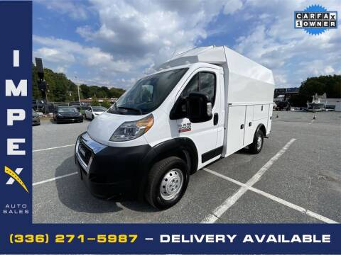 2019 RAM ProMaster Cutaway Chassis for sale at Impex Auto Sales in Greensboro NC