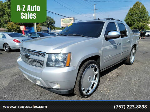 2012 Chevrolet Avalanche for sale at A-Z Auto Sales in Newport News VA