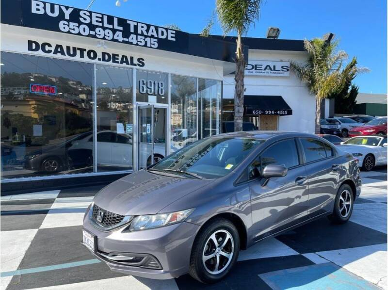 2015 Honda Civic for sale at AutoDeals in Daly City CA