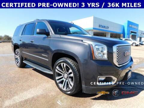 2017 GMC Yukon for sale at Stanley Chrysler Dodge Jeep Ram Gatesville in Gatesville TX