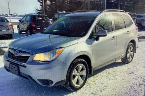 2015 Subaru Forester for sale at Downeast Auto Inc in South Waterboro ME