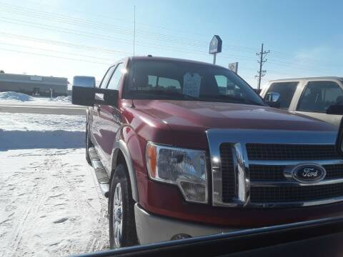 2009 Ford F-150 for sale at BARNES AUTO SALES in Mandan ND