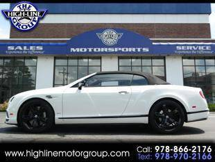 2017 Bentley Continental for sale at Highline Group Motorsports in Lowell MA
