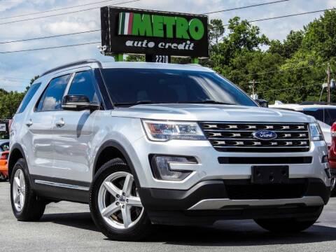 2017 Ford Explorer for sale at Metro Auto Credit in Smyrna GA