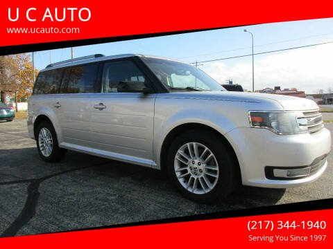 2014 Ford Flex for sale at U C AUTO in Urbana IL