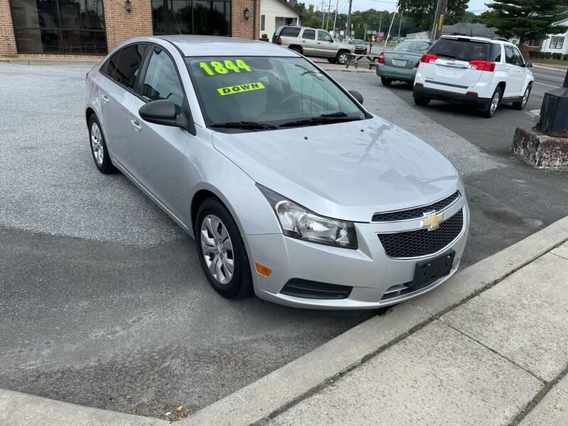2014 Chevrolet Cruze for sale in Laurel, DE