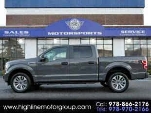 2018 Ford F-150 for sale at Highline Group Motorsports in Lowell MA