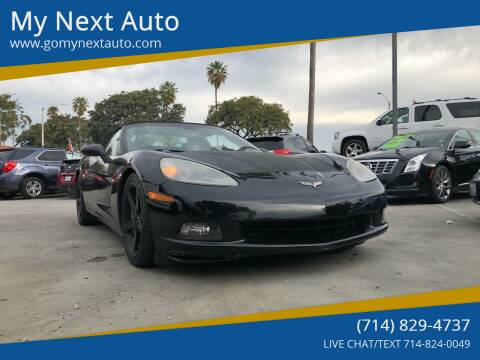 2006 Chevrolet Corvette for sale at My Next Auto in Anaheim CA