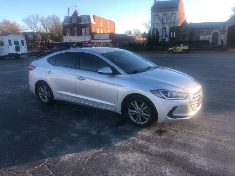 2017 Hyundai Elantra for sale at DC Auto Sales Inc in Saint Louis MO