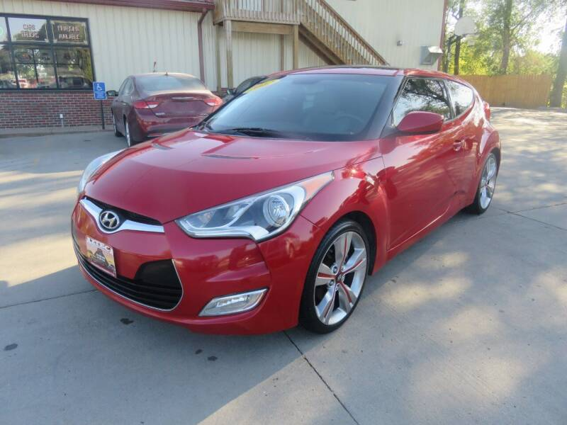 2012 Hyundai Veloster for sale at Azteca Auto Sales LLC in Des Moines IA
