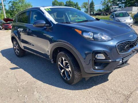 2021 Kia Sportage for sale at SUNSET CURVE AUTO PARTS INC in Weyauwega WI