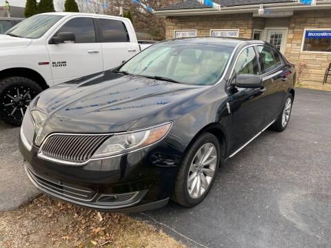 2014 Lincoln MKS for sale at Brucken Motors in Evansville IN