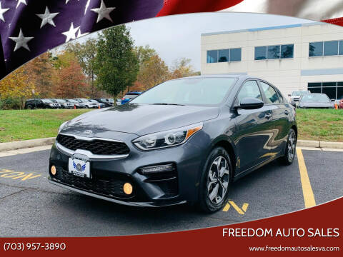 2019 Kia Forte for sale at Freedom Auto Sales in Chantilly VA