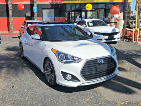 2016 Hyundai Veloster for sale at Carzone Automall in South Gate CA