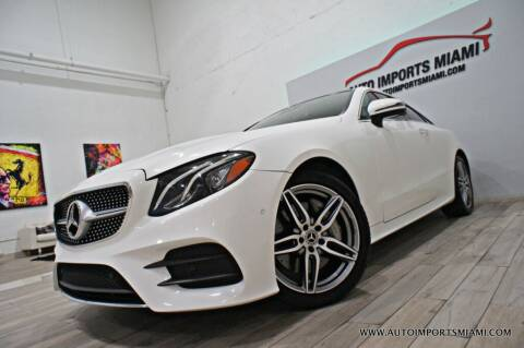 2018 Mercedes-Benz E-Class for sale at AUTO IMPORTS MIAMI in Fort Lauderdale FL