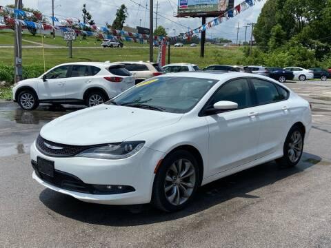 2015 Chrysler 200 for sale at Bic Motors in Jackson MO